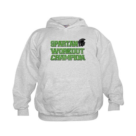 Spartan Workout Kids Hoodie