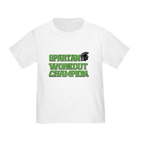 Spartan Workout Toddler T-Shirt
