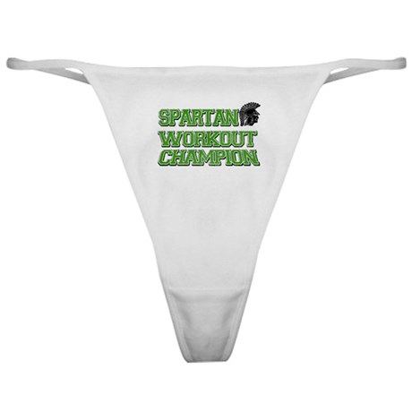 Spartan Workout Classic Thong