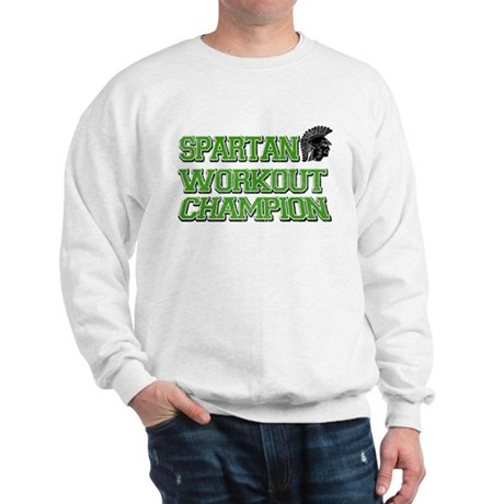 Spartan Workout Sweatshirt
