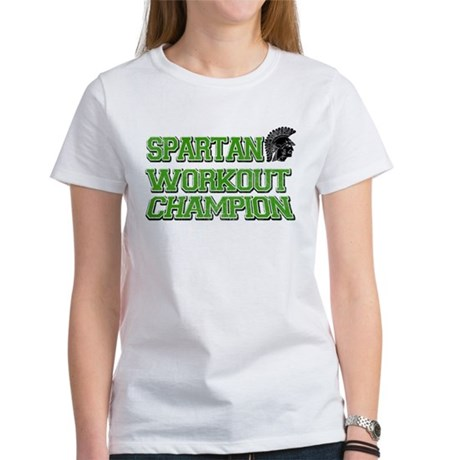 Spartan Workout Women's T-Shirt