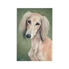 Saluki (Fawn) Rectangle Magnet (10 pack)