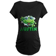 Austin Frog Tearing Out T-Shirt