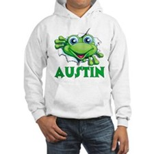 Austin Frog Tearing Out Hoodie