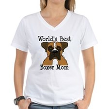 World's Best Boxer Mom Shirt