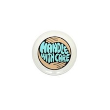 Hand With Care Mini Button