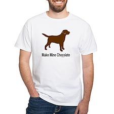 Make Mine Chocolate Lab Shirt