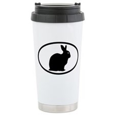 Bunny Rabbit Ceramic Travel Mug