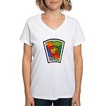 Bell-Cudahy Police Women's V-Neck T-Shirt