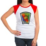 Bell-Cudahy Police Women's Cap Sleeve T-Shirt