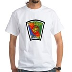 Bell-Cudahy Police White T-Shirt