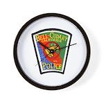 Bell-Cudahy Police Wall Clock