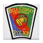 Bell-Cudahy Police Tile Coaster