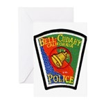 Bell-Cudahy Police Greeting Cards (Pk of 20)