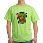 Bell-Cudahy Police Green T-Shirt