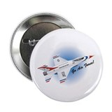 "Go Air Force 2.25"" Button (100 pack)"