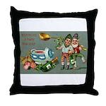 Happy Irish New Year Throw Pillow