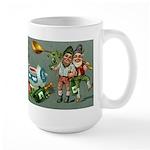 Happy Irish New Year Large Mug