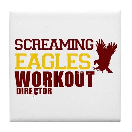Eagles Workout Tile Coaster