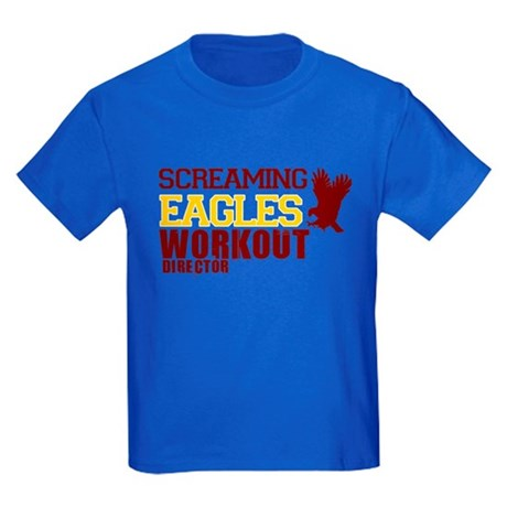 Eagles Workout Kids Dark T-Shirt