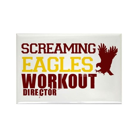 Eagles Workout Rectangle Magnet