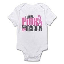 I Wear Pink For My Mommy 6.2 Infant Bodysuit