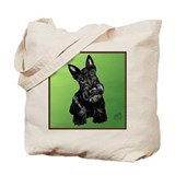 Scotty Dog Tote Bag