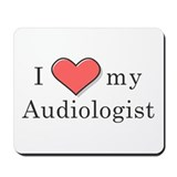 I heart my Audiologist Mousepad