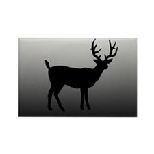 BUCK SILLOUETTE Rectangle Magnet