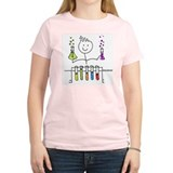 Science Stick Figure T-Shirt
