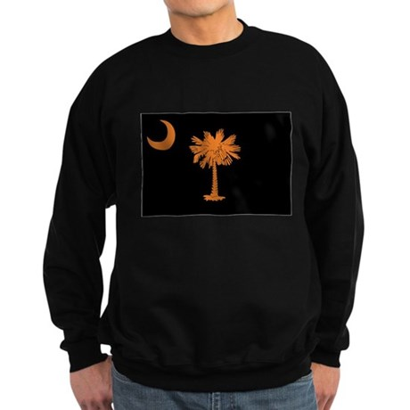 Orange and Black South Caroli Sweatshirt (dark)