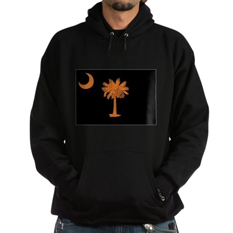 Orange and Black South Caroli Hoodie (dark)