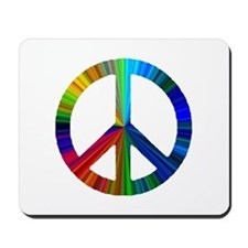 Cute Peace earth Mousepad