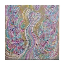 Ascension Angel Tile Coaster