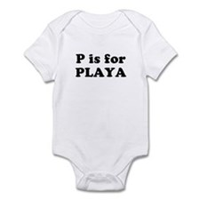P is for PLAYA Infant Creeper