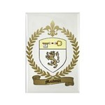 MAUDOUX Family Crest Rectangle Magnet (100 pack)