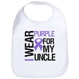 IWearPurple Uncle Bib