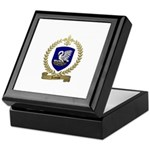 LEJEUNE Family Crest Keepsake Box