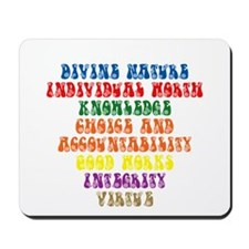 Values1 Mousepad