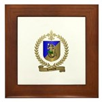 LEMOYNE Family Crest Framed Tile