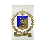 LEMOYNE Family Crest Rectangle Magnet (100 pack)