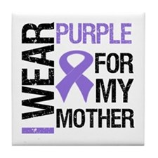 IWearPurple Mother Tile Coaster