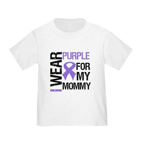 IWearPurple Mommy Toddler T-Shirt