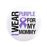 "IWearPurple Mommy 3.5"" Button"