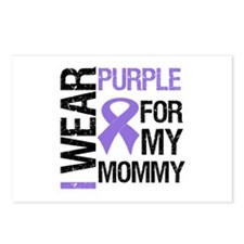 IWearPurple Mommy Postcards (Package of 8)