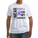 IWearPurple Grandson Shirt