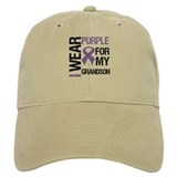 IWearPurple Grandson Cap