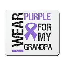 IWearPurple Grandpa Mousepad