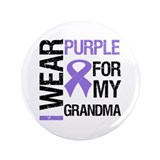 "IWearPurple Grandma 3.5"" Button"