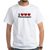 Heart Heart Heart 3somes Shirt
